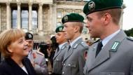 Gelöbnis vor dem Reichstag