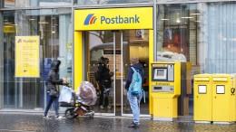 Strafzins der Postbank schon ab 50.000 Euro