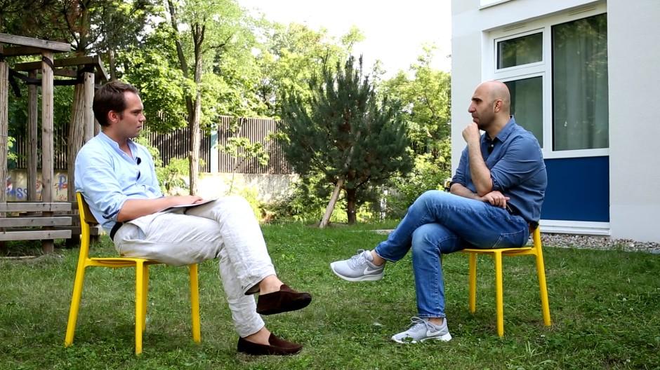 Streitbarer Mann, der gern Tacheles redet: Ahmad Mansour