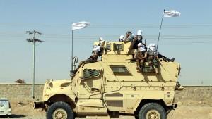 Taliban stellen erbeutetes US-Militärgerät zur Schau