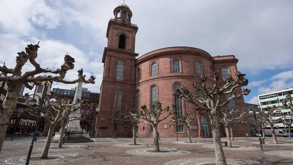 Bis zum 175. Jahrestag der Frankfurter Nationalversammlung im Jahr 2023 soll die Kirche saniert werden.