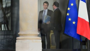 Hollande in Not