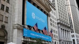 Snowflake begeistert die Wall Street