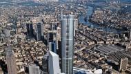 Illusion: 365 Meter sollte der Millennium Tower einst messen. Auch die Nachbarschaft sieht heute anders aus.