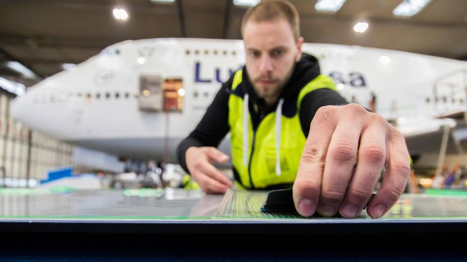 Die Aerodynamik soll mit Hilfe der neuen Oberflächenbeschichtung reduziert werden.