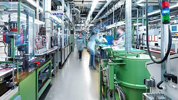 Varta will mit Börsengang 150 Millionen Euro erlösen