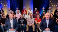 Manfred Weber (l.) und Frans Timmermans beim TV-Duell