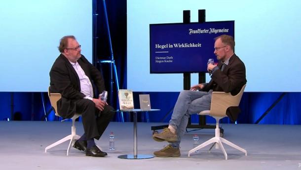 """Buchmesse-Gespräch """"Hegel in Wirklichkeit"""""""