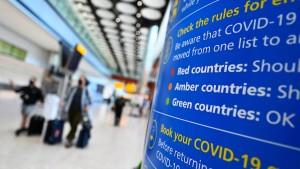 Werden die britischen Corona-Reiseauflagen gelockert?