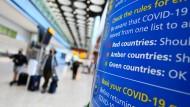 Wenige infizierte Rückkehrer: Britische Reiseindustrie fordert Corona-Lockerung