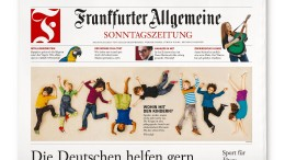 """F.A.S. zum sechsten Mal als """"International Newspaper of the Year"""" ausgezeichnet"""