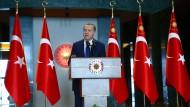 Er versucht, seine Macht im Staate auszubauen: der türkische Präsident Recep Tayyip Erdogan.