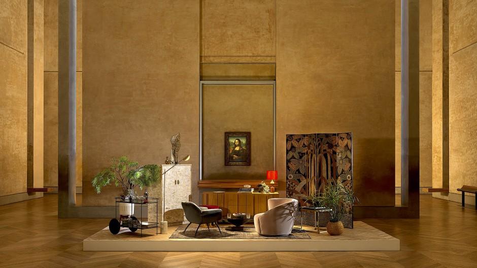 Cocktails mit Mona Lisa: Als der Louvre einmal für eine Nacht zum Wohnzimmer wurde.