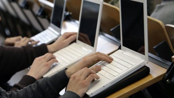 Laptop statt Bunsenbrenner