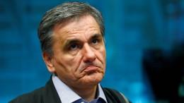 Italien entmutigt Griechenland