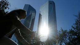 Die Deutsche Bank trumpft auf
