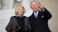 Royals besuchen Washington
