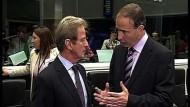 Europa nach Nein der Iren in der Krise