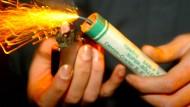 Die Deutsche Umwelthilfe möchte den privaten Einsatz von Feuerwerkskörpern einschränken.