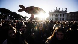 Sardinen wollen es mit Salvini aufnehmen
