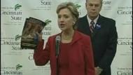 Hillary Clinton greift Barack Obama scharf an