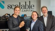 Die Gründer von Scalable Capital