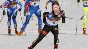 Deutsche Frauen-Staffel gleitet zu Silber