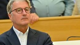 Ex-Audi-Chef Stadler steht vor Gericht