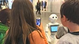 Dieser Roboter ist ein Publikumsmagnet