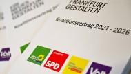 """Die """"Erklärung"""" zum geplanten Frankfurter Koalitionsvertrag wirft einige Fragen auf."""