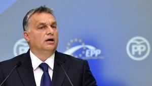 EVP-Fraktion setzt Mitgliedschaft von Orbán-Partei aus