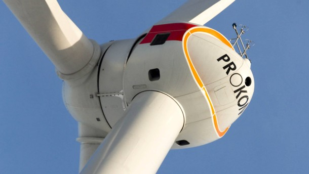Prokon P 3000 Windkraftanlage