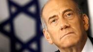 Olmert kündigt Rücktritt an