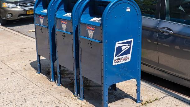 Amerikanische Post verschiebt Sparkurs