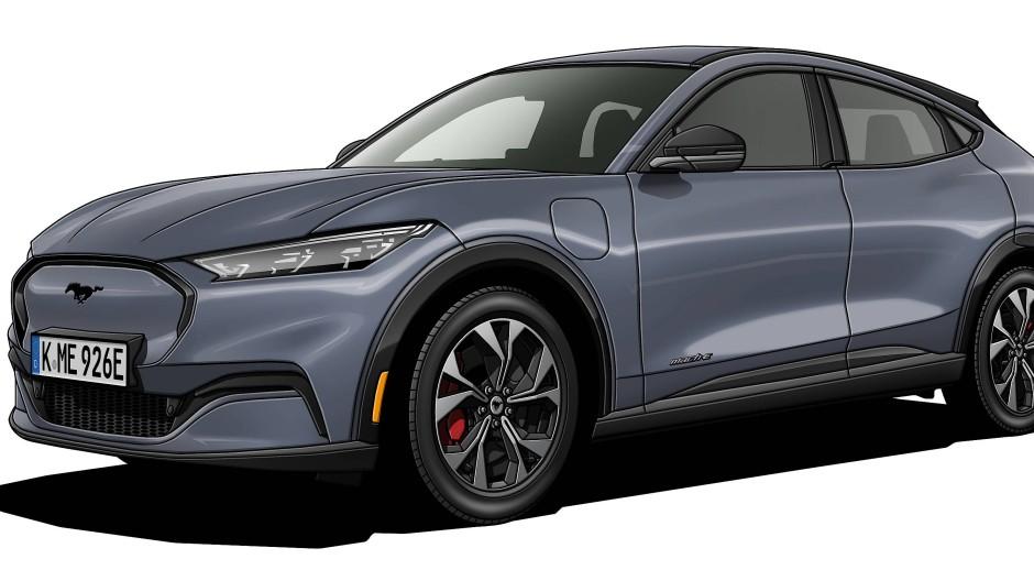 Der Mustang Mach E