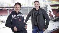 Die Geschäftsführer von Engelbert Strauss, Henning (links) und Streffen Strauss, probieren mit ihrer Mode den Spagat zwischen Arbeitskleidung und Lifestyle-Produkt.