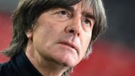Am Tiefpunkt angekommen: Joachim Löws weitere Zukunft als Nationaltrainer ist ungewiss.