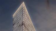 """Eine Mischung aus Hotel und Büros: Das Hochhaus ?One"""" soll 2021 eröffnet werden."""
