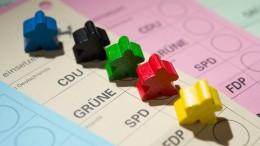 Die Parteiencharts vor der Wahl