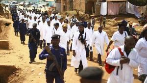 Zahl der Ebola-Fälle in Kongo steigt weiter