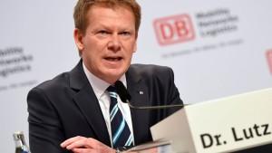 Finanzvorstand Lutz soll neuer Bahnchef werden