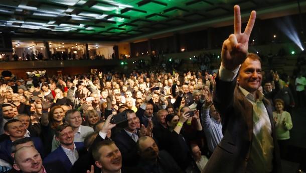 Oppositionspartei OLaNO gewinnt Parlamentswahl