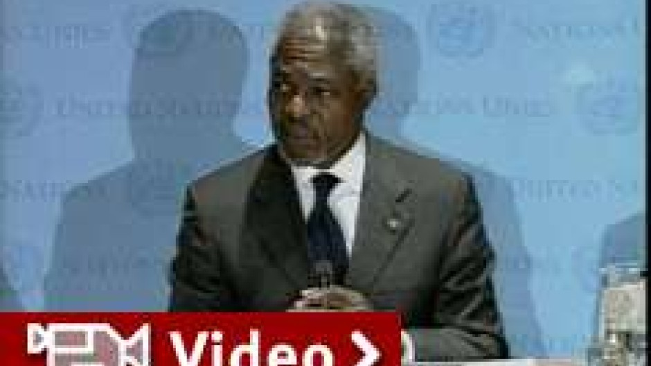 UN setzen auf Diplomatie