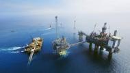 Ölförderung nahe der norwegischen Küste