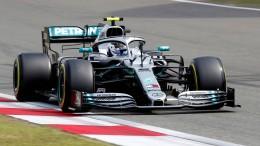 Bottas holt Pole Position vor Hamilton
