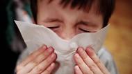 Stärker als grippekranke Erwachsene treiben Kinder die Ausbreitung der Krankheit voran: Sie geben die Viren länger und in höheren Konzentrationen ab.