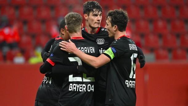 Leverkusen mit deutschem Tor-Rekord in der Europa League