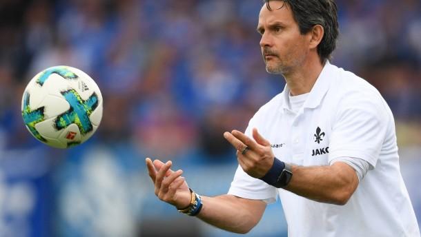 Darmstadt verlängert Vertrag mit Trainer Schuster