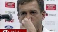 Im Machtkampf Tränen vergossen: Sloweniens Trainer Katanec