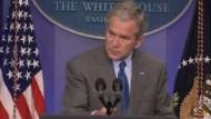 Bush fordert Türkei auf, den Irak schnell zu verlassen